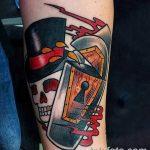 Фото тату замочная скважина 25.08.2018 №158 - keyhole tattoo - tatufoto.com