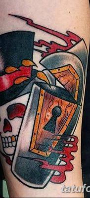Фото тату замочная скважина 25.08.2018 №158 – keyhole tattoo – tatufoto.com