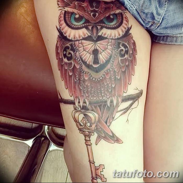 Фото тату замочная скважина 25.08.2018 №161 - keyhole tattoo - tatufoto.com