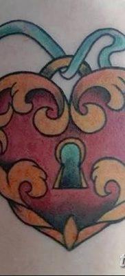 Фото тату замочная скважина 25.08.2018 №163 – keyhole tattoo – tatufoto.com