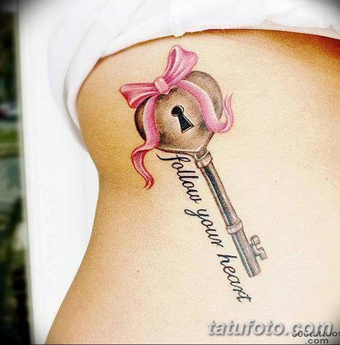 Фото тату замочная скважина 25.08.2018 №164 - keyhole tattoo - tatufoto.com