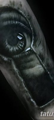 Фото тату замочная скважина 25.08.2018 №174 – keyhole tattoo – tatufoto.com