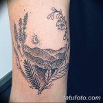 Фото тату колос пшеницы от 07.08.2018 №030 - tattoos ear of wheat - tatufoto.com