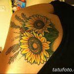 Фото тату колос пшеницы от 07.08.2018 №040 - tattoos ear of wheat - tatufoto.com