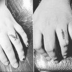 Фото тату колос пшеницы от 07.08.2018 №047 - tattoos ear of wheat - tatufoto.com