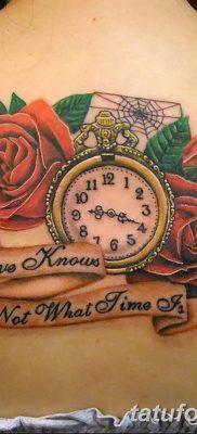 Фото тату красная роза от 08.08.2018 №101 – red rose tattoo – tatufoto.com