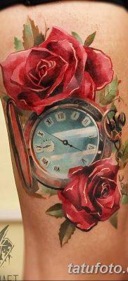 Фото тату красная роза от 08.08.2018 №102 – red rose tattoo – tatufoto.com