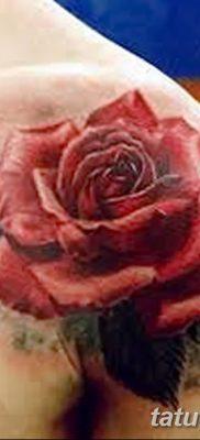 Фото тату красная роза от 08.08.2018 №150 – red rose tattoo – tatufoto.com