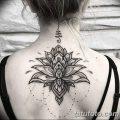 Фото тату лотос для девушки от 07.08.2018 №074 - lotus tattoo for girl - tatufoto.com