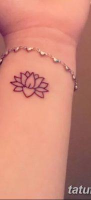 Фото тату лотос для девушки от 07.08.2018 №112 – lotus tattoo for girl – tatufoto.com