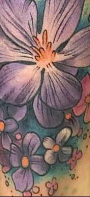 Фото тату лотос для девушки от 07.08.2018 №113 – lotus tattoo for girl – tatufoto.com
