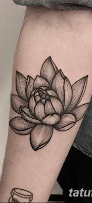 Фото тату лотос для девушки от 07.08.2018 №119 – lotus tattoo for girl – tatufoto.com
