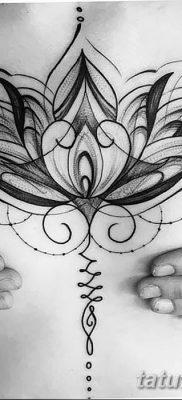 Фото тату лотос для девушки от 07.08.2018 №122 – lotus tattoo for girl – tatufoto.com