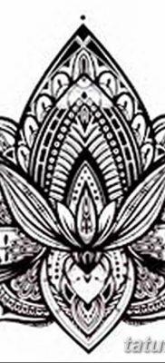 Фото тату лотос для девушки от 07.08.2018 №126 – lotus tattoo for girl – tatufoto.com