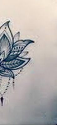 Фото тату лотос для девушки от 07.08.2018 №128 – lotus tattoo for girl – tatufoto.com