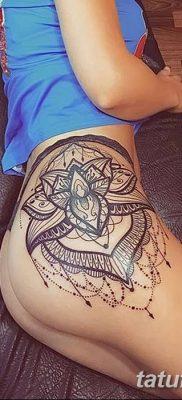Фото тату лотос для девушки от 07.08.2018 №129 – lotus tattoo for girl – tatufoto.com