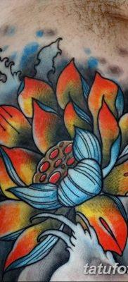Фото тату лотос для девушки от 07.08.2018 №130 – lotus tattoo for girl – tatufoto.com
