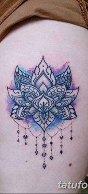 Фото тату лотос для девушки от 07.08.2018 №132 – lotus tattoo for girl – tatufoto.com