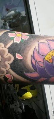 Фото тату лотос для девушки от 07.08.2018 №136 – lotus tattoo for girl – tatufoto.com