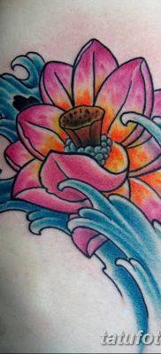 Фото тату лотос для девушки от 07.08.2018 №142 – lotus tattoo for girl – tatufoto.com