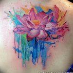 Фото тату лотос для девушки от 07.08.2018 №143 - lotus tattoo for girl - tatufoto.com