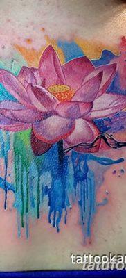 Фото тату лотос для девушки от 07.08.2018 №143 – lotus tattoo for girl – tatufoto.com