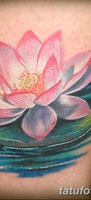 Фото тату лотос для девушки от 07.08.2018 №145 – lotus tattoo for girl – tatufoto.com