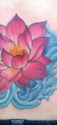 Фото тату лотос для девушки от 07.08.2018 №163 – lotus tattoo for girl – tatufoto.com