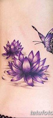 Фото тату лотос для девушки от 07.08.2018 №165 – lotus tattoo for girl – tatufoto.com