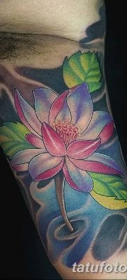 Фото тату лотос для девушки от 07.08.2018 №166 – lotus tattoo for girl – tatufoto.com