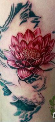 Фото тату лотос для девушки от 07.08.2018 №167 – lotus tattoo for girl – tatufoto.com