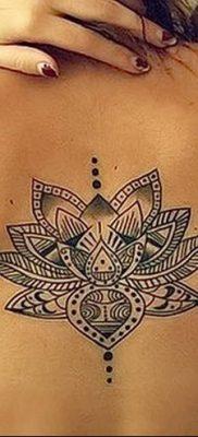 Фото тату лотос для девушки от 07.08.2018 №169 – lotus tattoo for girl – tatufoto.com