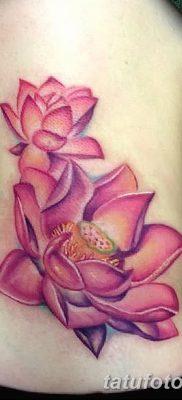 Фото тату лотос для девушки от 07.08.2018 №171 – lotus tattoo for girl – tatufoto.com