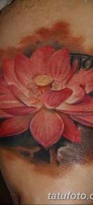 Фото тату лотос для девушки от 07.08.2018 №174 – lotus tattoo for girl – tatufoto.com