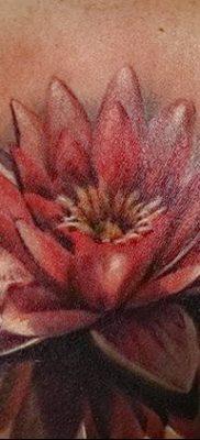 Фото тату лотос для девушки от 07.08.2018 №175 – lotus tattoo for girl – tatufoto.com