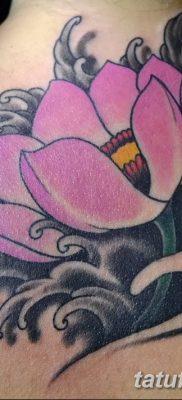 Фото тату лотос для девушки от 07.08.2018 №184 – lotus tattoo for girl – tatufoto.com