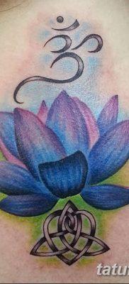 Фото тату лотос для девушки от 07.08.2018 №187 – lotus tattoo for girl – tatufoto.com