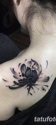 Фото тату лотос для девушки от 07.08.2018 №188 – lotus tattoo for girl – tatufoto.com
