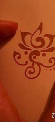 Фото тату лотос для девушки от 07.08.2018 №196 – lotus tattoo for girl – tatufoto.com