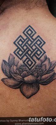 Фото тату лотос для девушки от 07.08.2018 №200 – lotus tattoo for girl – tatufoto.com