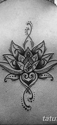 Фото тату лотос для девушки от 07.08.2018 №202 – lotus tattoo for girl – tatufoto.com
