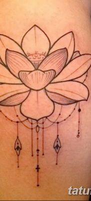 Фото тату лотос для девушки от 07.08.2018 №204 – lotus tattoo for girl – tatufoto.com