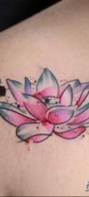 Фото тату лотос для девушки от 07.08.2018 №206 – lotus tattoo for girl – tatufoto.com