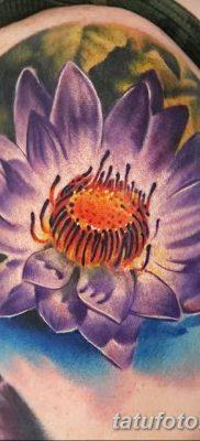 Фото тату лотос для девушки от 07.08.2018 №209 – lotus tattoo for girl – tatufoto.com