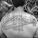 Фото тату мост 25.08.2018 №115 - bridge tattoo - tatufoto.com