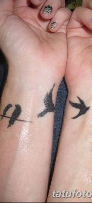 Фото тату птицы для девушек от 07.08.2018 №015 – bird tattoo for girls – tatufoto.com