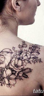 Фото тату птицы для девушек от 07.08.2018 №029 – bird tattoo for girls – tatufoto.com