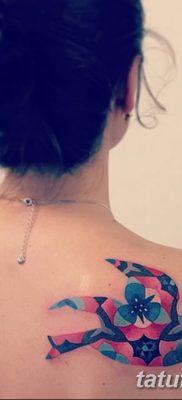Фото тату птицы для девушек от 07.08.2018 №053 – bird tattoo for girls – tatufoto.com