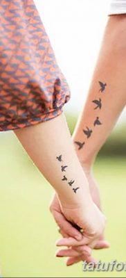 Фото тату птицы для девушек от 07.08.2018 №055 – bird tattoo for girls – tatufoto.com