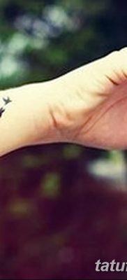 Фото тату птицы для девушек от 07.08.2018 №074 – bird tattoo for girls – tatufoto.com
